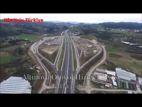 Izmir-Istanbul Yeni Otoyol Uzun İnce Bir Yoldayım KARAOKE