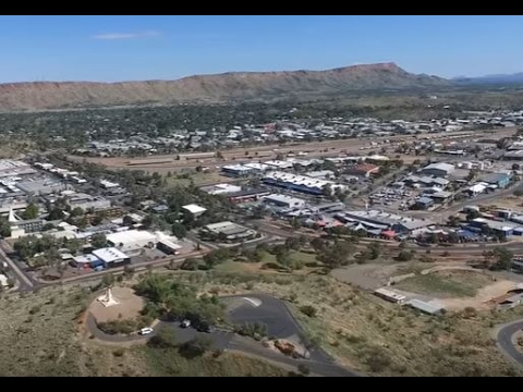 Australia - Alice Springs NT Drone Video