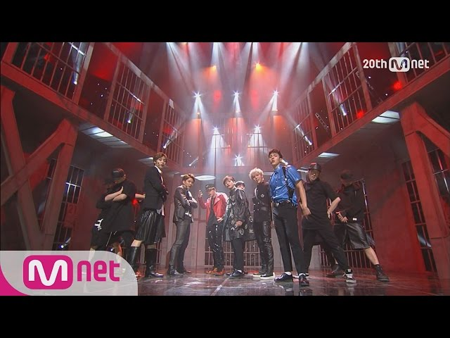 Finally debuted! MONSTA X 'Trespass' [M COUNTDOWN] EP.424