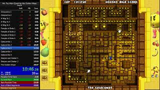 Ms. Pac-Man Quest for the Golden Maze - Easy Speedrun in: 24:16