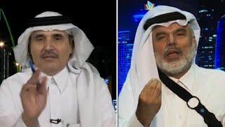احمد الشهري يجلد القطري علي الهيل بعد تصريحات الجبير عن قطر