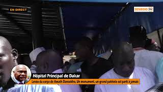 🔴Direct -  Hôpital Principal levées corps de Amath Dansokho