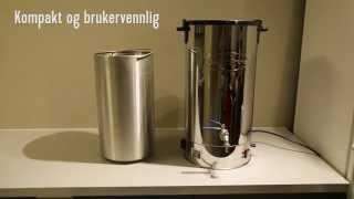 Beer Brew 30 - Komplett bryggeanlegg for hjemmebruk