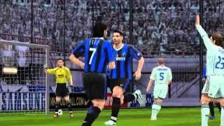 Pro Evolution Soccer 6 - gameplay (Inter vs Real Madrid 2006)