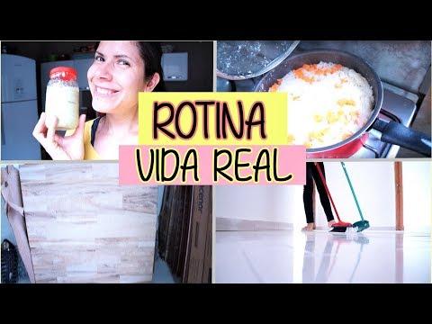 Vlog: fiz ALMOÇO, varri os quartos, COMPRAMOS a cerâmica da COZINHA e VARANDA - Tati Barbosa