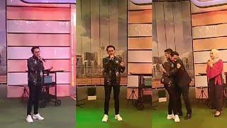 Feeling habis Sufian Suhaimi nyanyi lagu Di Matamu sampai Fahrin Ahmad peluk
