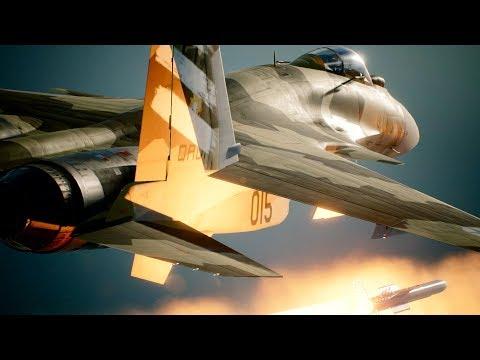 ACE COMBAT 7: SKIES UNKNOWN - Launch Trailer | PS4, PSVR, X1, PC jugar ace combat 7