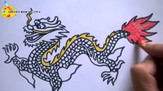 Vẽ con Rồng/ How to Draw a Dragon