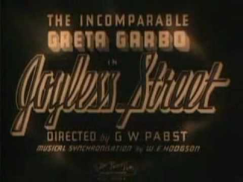 The Joyless Street is listed (or ranked) 20 on the list The Best Greta Garbo Movies