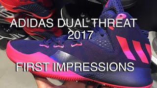 wholesale dealer deec6 db9dd ADIDAS DUAL THREAT 2017  First Impressions and Performance Overview