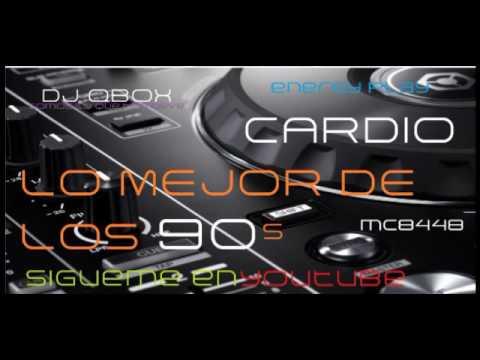 CARDIO MIX 90s LO MEJOR Dj Qbox xd ENERGY PLAY