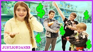 Anything You Can Carry I Will Buy Shopping Challenge / JustJordan33