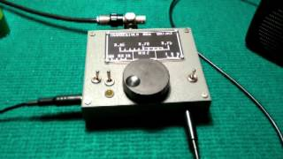 transceiver homemade portable 80m QRP SSB