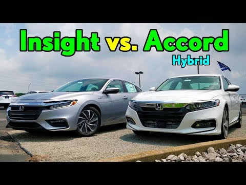 Best $30K Honda Hybrid  2019 Honda Insight vs. Honda Accord Hybrid: Comparison
