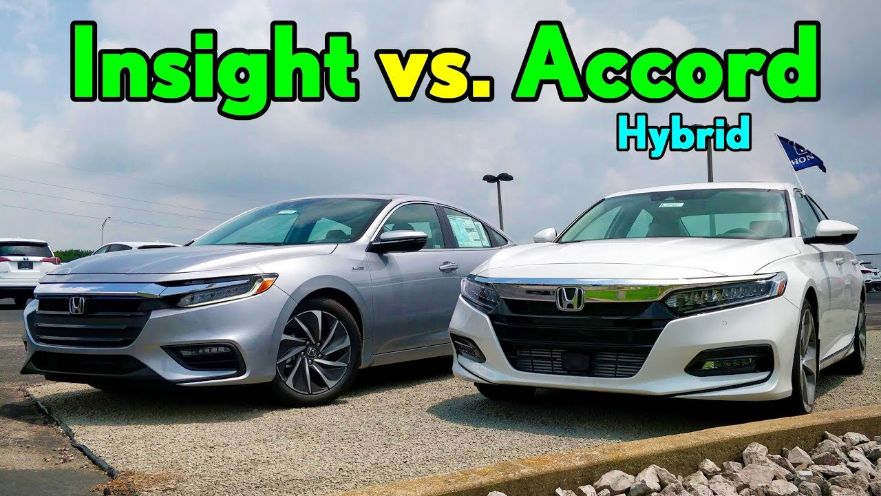 best 30k honda hybrid 2019 honda insight vs honda accord hybrid comparison