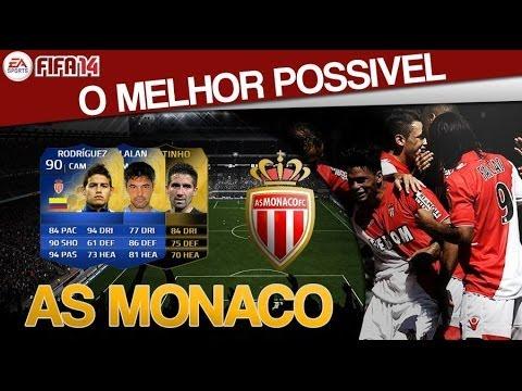 FIFA 14 | Melhor Time Possível do Monaco c/ TOTS e IFs!