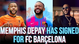 MEMPHIS DEPAY SIGNS For Barcelona Until The 2022/23 SEASON: Griezmann Commits with Barca until 2024