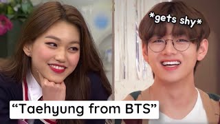 Download Female K-pop Idols That Have CRUSHES On A BTS Member!
