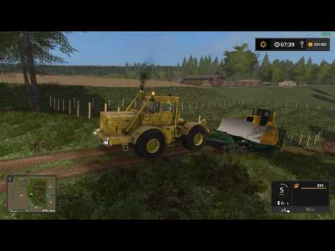 Farming Simulator 2017 Обзор мода ЧМЗАП 5212