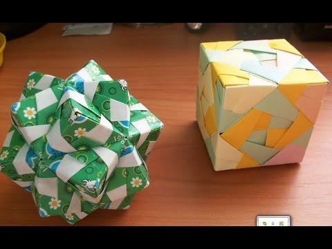 Простые Поделки Оригами.