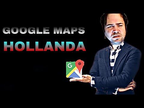 OĞUZ SASİ GOOGLE MAPS'TE HOLLANDA'YI GEZİYOR
