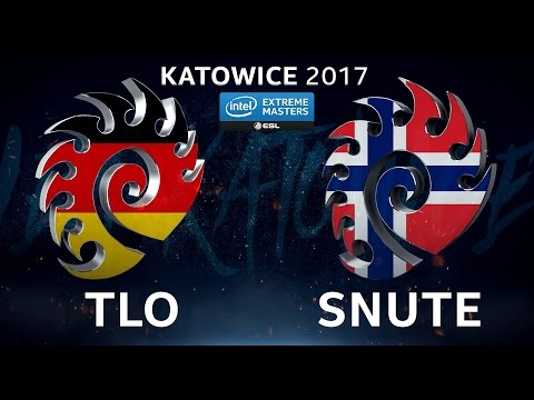StarCraft II - TLO vs. Snute [ZvZ] - B1 Lower Qualifier - IEM Katowice 2017