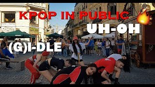 [KPOP IN PUBLIC ROMANIA] (G)I-DLE((여자)아이들) _ Uh-Oh  Dance Cover By SSenBreakers [ONE SHOT VERSION]