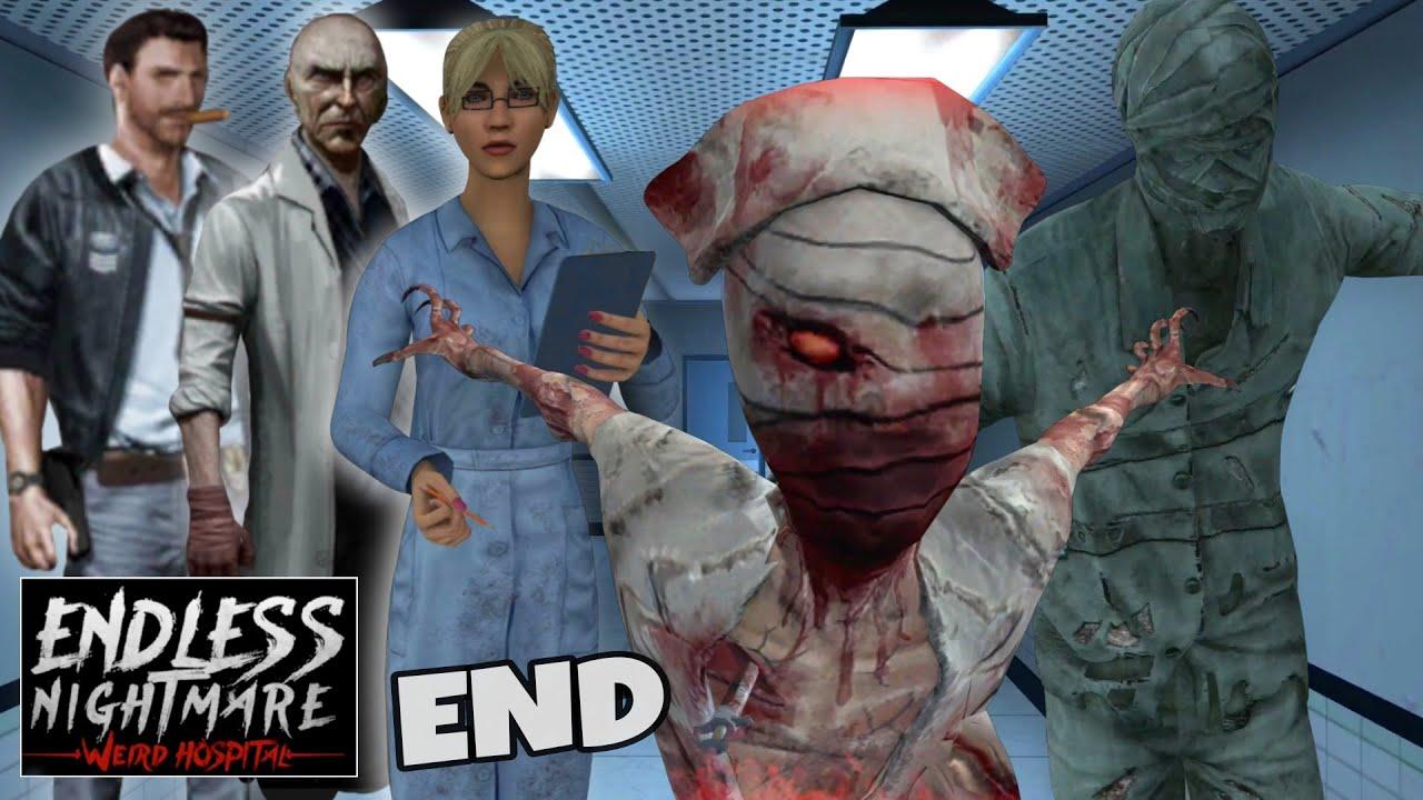 Akhirnya Terbongkar Sudah | Endless Nightmare 2: Weird Hospital - End