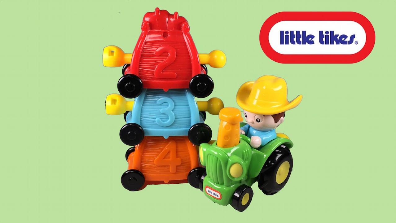 Niños Juguete Tractor Para Tractores Little InfantilesVideo De Tikes JFlKT1c