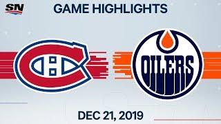 NHL Highlights   Canadiens vs. Oilers – Dec. 21, 2019