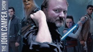 Rian Johnson Leaves Star Wars Headlines Fly But Are They Real - The Johh Campea Show