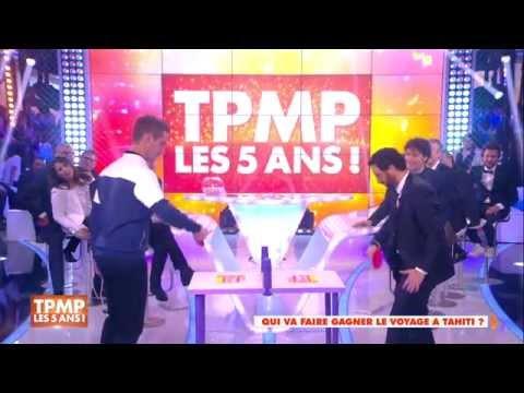 Cyril Hanouna affronte Richard Gasquet au ping-pong dans TPMP !