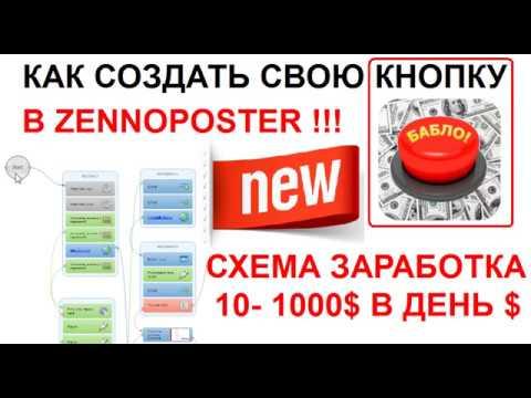 Как новичку с первого дня заработать от 10 до 1000$ создав простой скрипт для Zenno постера