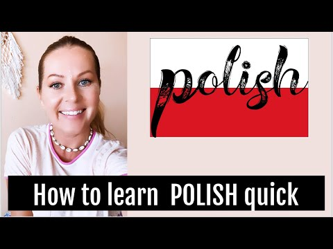 HOW TO LEARN POLISH LANGUAGE QUICK // ItsEwelina