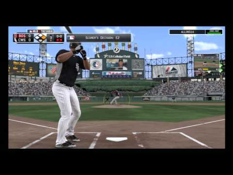 MLB 13 The Show, Red Sox @ White Sox
