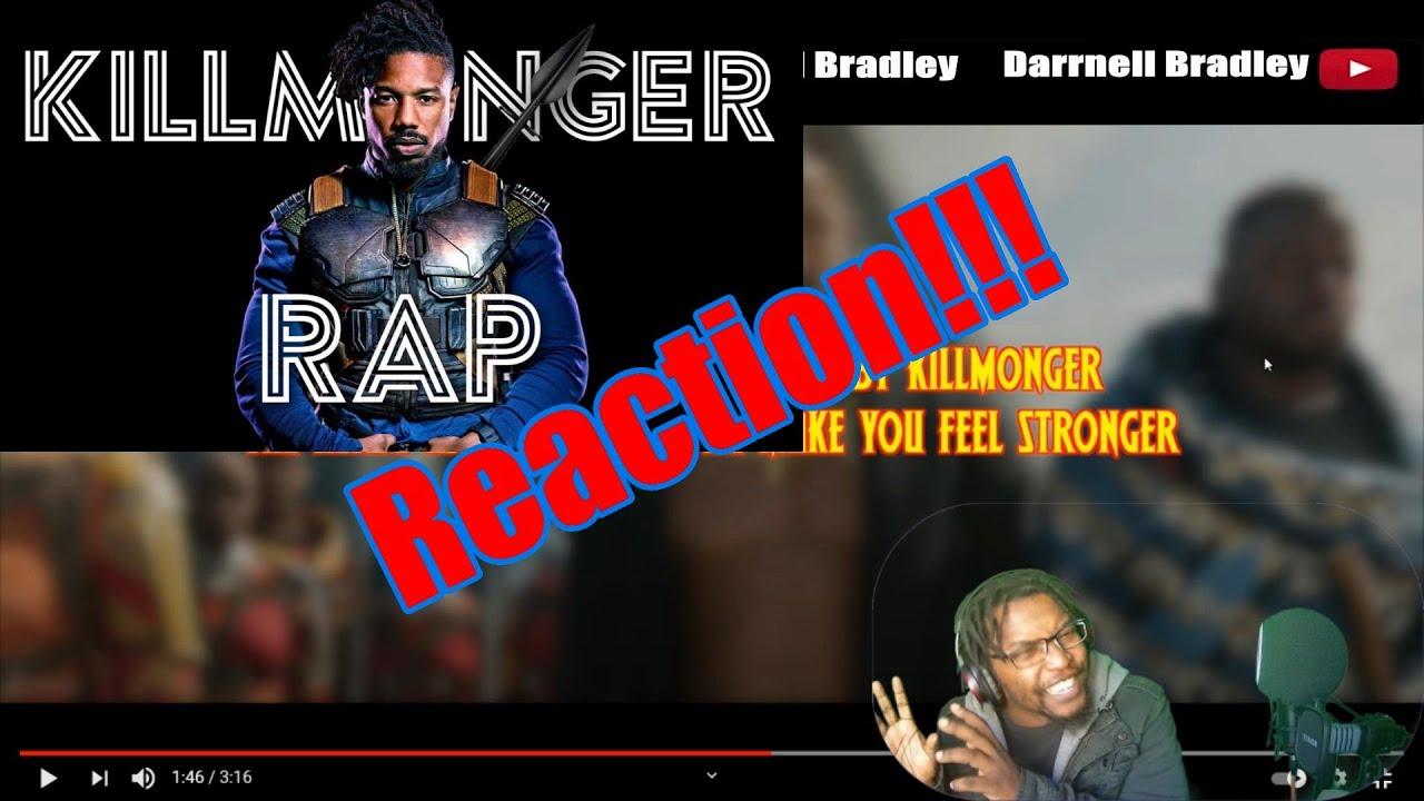 Download Black Panther Rap - The Killmonger Prod Caliberbeats Soundtrack Villian Daddyphatsnaps - DB Reaction