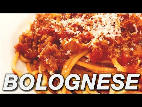 How To Make Spaghetti Bolognese- Meat Sauce Recipe