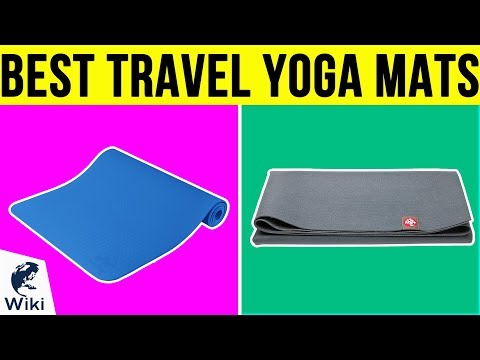 8 Best Travel Yoga Mats 2019