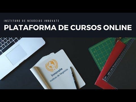 Conheça a Plataforma Integrada  de Cursos Online do Instittuto Innovate