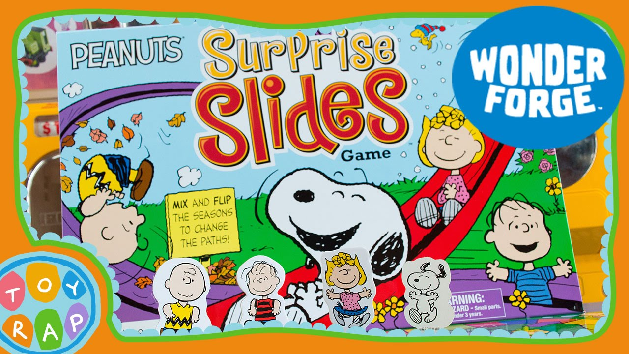 Game board colors - Peanuts Surprise Slides Board Game Learn Colors And Seasons Peanuts Toys Charlie Brown Toyrap Youtube