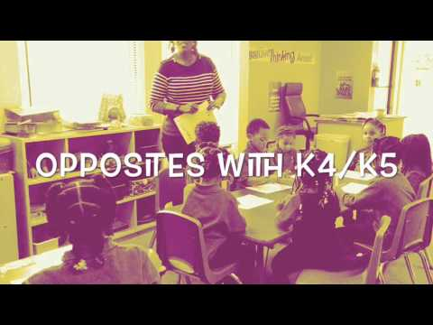 Opposites with K4/K5 - Genesis Christian Day School