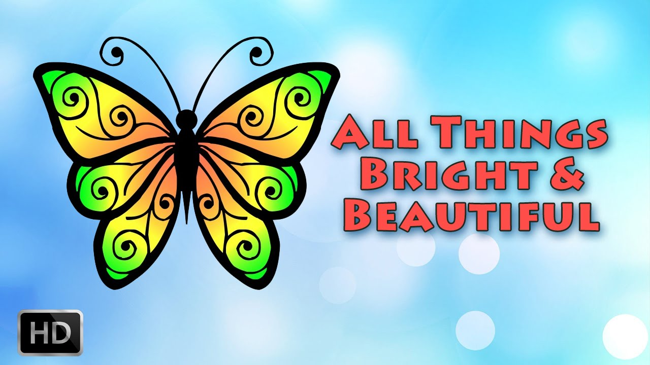 all things bright and beautiful lyrics pdf