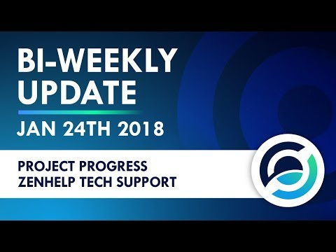 ZenCash Live Stream Jan 24, 2018