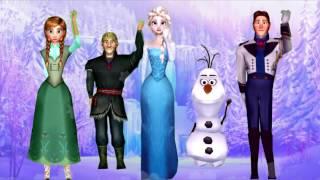 Frozen El reino del hielo La Familia de Dedos en español Canciones Infantiles