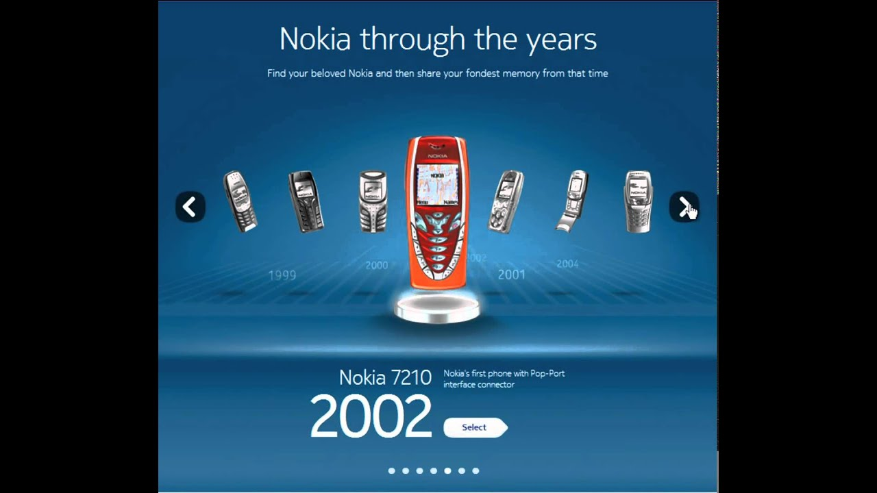evolution of nokia Inside the nokia booth at mobile world congress americas in san francisco,  calif, product marketing manager for lte arne schaelicke.