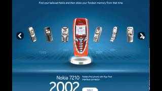 Nokia 1982 - 2011 Model Evolution