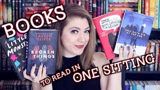 YOU SHOULD READ THESE BOOKS IN ONE SITTING!