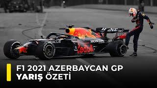 F1 2021 Azerbaycan GP Yarış Özeti
