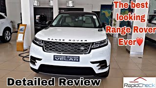 2019 Range Rover Velar Detailed Hindi Review India | Best Feature Explanied in-depth..