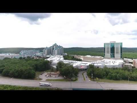 Foxwoods casino by drone